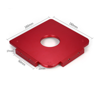 High Quanlity Rounded Template Woodworking Radius Template Radius Jig Router Template Aluminum Alloy Radius Corners Table Radius