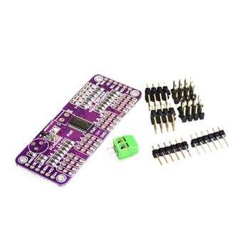 Interfaz 16 canales 12 bits PWM/Servo Driver-I2C PCA9685 para Módulo de blindaje Raspberry pi servo shield