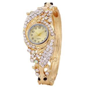 Luxury Women Rhinestone Round