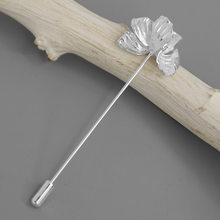 IOS Galaxy S5 925 Sterling Silver Vintage Poppy Bunga Bros Pin Fashion Perhiasan Aksesoris(China)