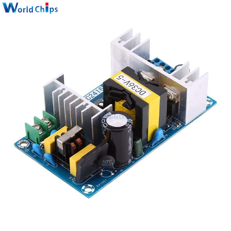 <font><b>36V</b></font> <font><b>180W</b></font> <font><b>5A</b></font> Switching Power Supply Voltage Regulator <font><b>AC</b></font>-<font><b>DC</b></font> Power Transformer Converter Module AC100-240V to <font><b>DC</b></font> <font><b>36V</b></font> image
