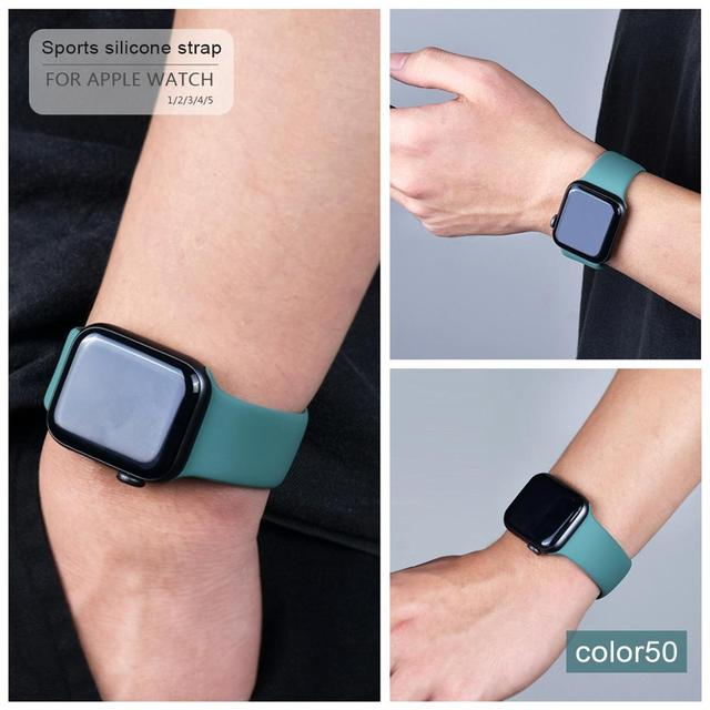 Soft Silicone Band for Apple Watch 3