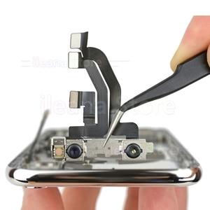Image 5 - Cámara frontal pequeña flexible para iPhone X, Xs, Max, XR, 7, 8 Plus, Cable flexible, Sensor de proximidad de luz, sin identificación facial