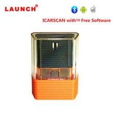Najnowszy uruchomienie ICARSCAN z 10 bezpłatnym oprogramowaniem ICAR SCAN X431 IDIAG Vpecker Easydiag m diag lite dla androida/IOS aktualizacja Online