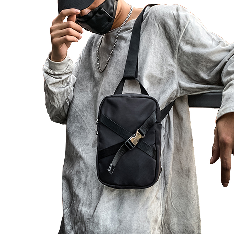 Male Chest Bag Fashion Waterproof Oxford Messenger Shoulder Bag For Teenager Bag Casual Chest Pack Travel Crossbody Bags Male