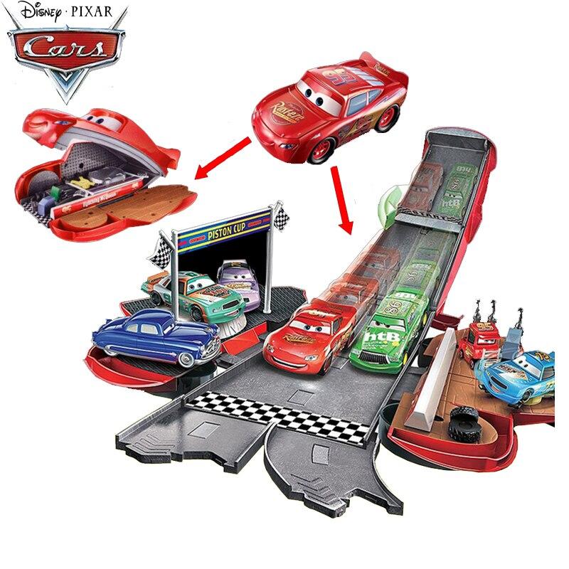 Машинка-слайдер Disney Pixar «молния», развивающая игрушка для детей, DVF38