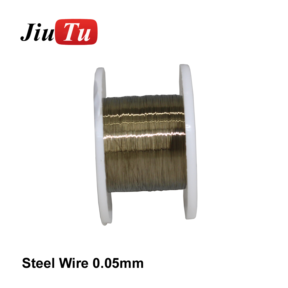50M Gold Wire Cutting Line Separator Lcd Outer Glass For Cellphone Repair