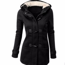 Hooded Winter Parka Plus Size Women Thick Girl Snow Coat Cot