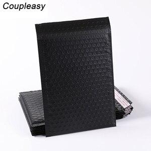 Image 2 - 50 adet toptan kabarcık zarflar çanta mat siyah postaları yastıklı nakliye zarf kabarcık posta çantası iş malzemeleri