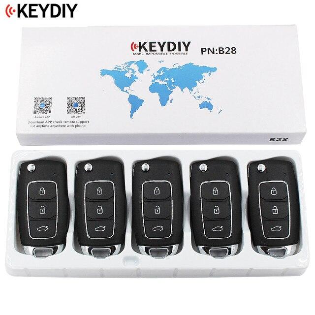 5 قطعة/الوحدة ، KEYDIY 2 + 1 أزرار العالمي مفتاح تحكم عن بعد B سلسلة B28 ل KD MINI KD900 KD900 + ، URG200 KD X2