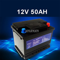 12V 50AH Car Start up Lithium Iron Phosphate Battery LiFePO4 Built in Protection Board Maintenance Free 1000CCA For Car Vehicle