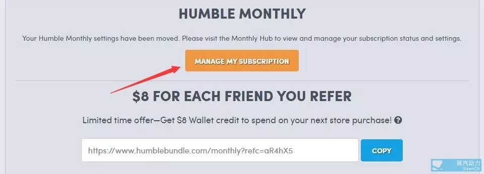 Manage My Subscription