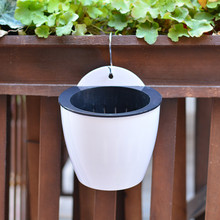 Home-Decoration Flower-Pot Hanging-Basin Wall Lazy Water-Culture Automatic