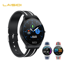 Smart Watch Men Women IP67 Waterproof Sport Tracker Heart Rate Blood Pressure Touch Screen App Fitness Wristwatch LIASIDI TD26