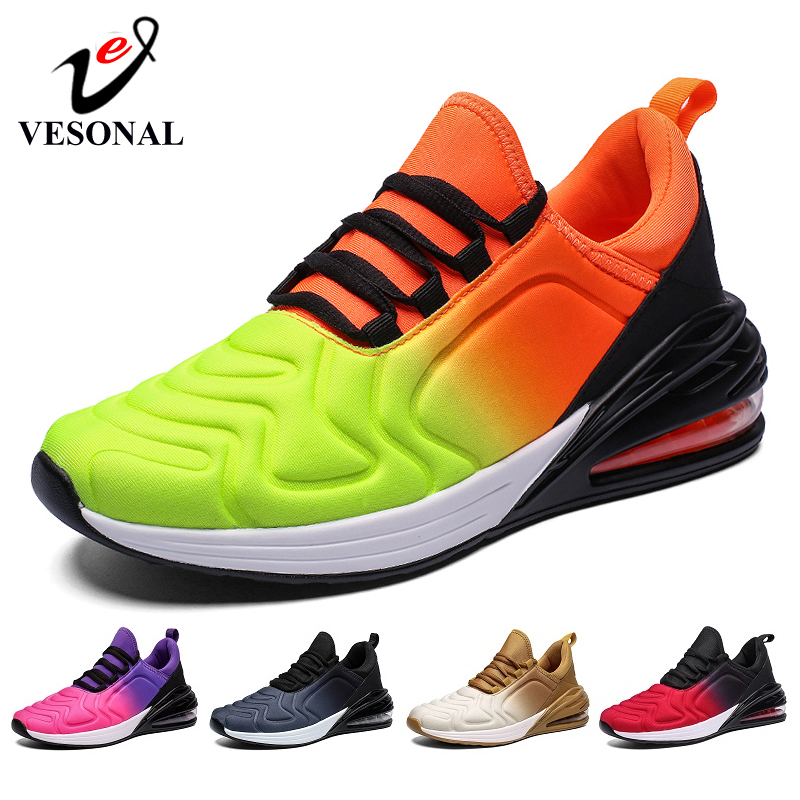 VESONAL Brand 2019 Fashion Lycra Sneakers Men Casual For Male Shoes Adult Autumn New Unisex Running Innrech Market.com