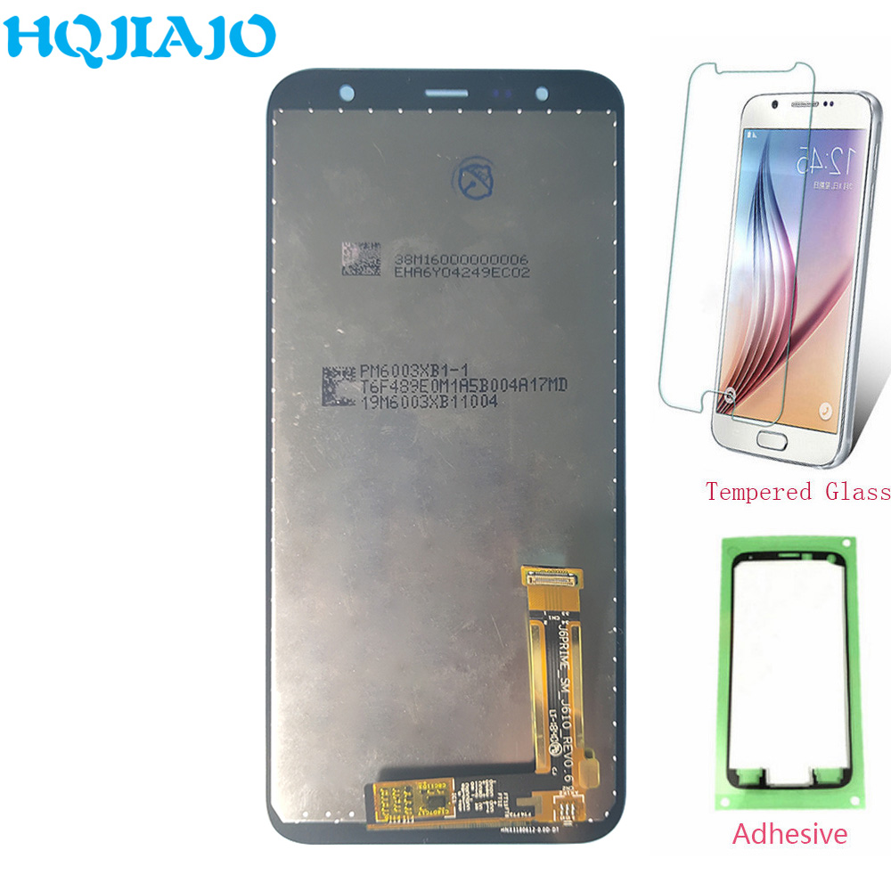 Super AMOLED LCD For Samsung <font><b>Galaxy</b></font> <font><b>J4</b></font>+ <font><b>2018</b></font> <font><b>J4</b></font> Plus J415 J415F J415G J415M LCD <font><b>Display</b></font> Touch Screen Digitizer Assembly J610 J6+ image