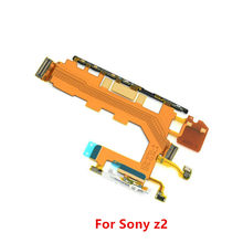 New Replacement Motherboard Flex Cable for Sony Xperia Z2 D6503 D6502 D6543 Volume Power Button & Microphone Flex(China)