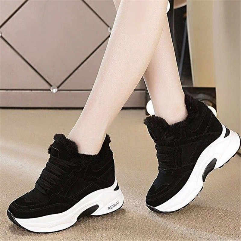 High Heel Sneaker Womens Platform Shoes