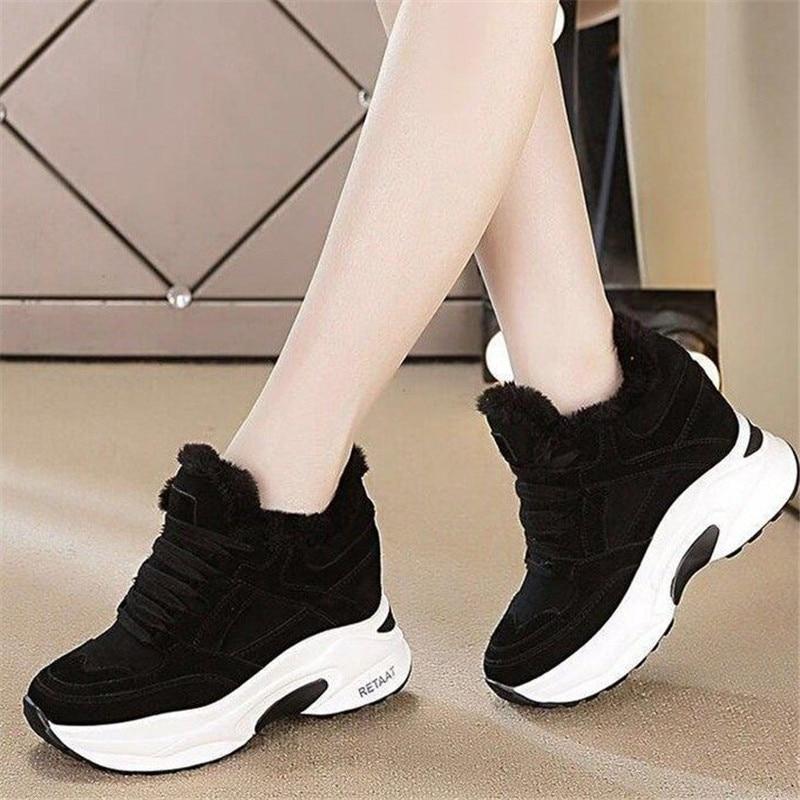 Platform Heel Sneakers