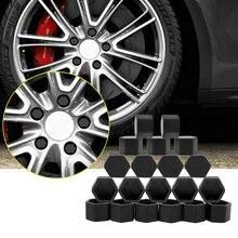 20 piezas para Alfa Romeo BMW 159 E46 E39 E36 E90 E87 M3 M4 Audi A3 A6 C5 A4 B6 B8 tapas de válvula de tornillo de cubo de rueda de coche de silicona