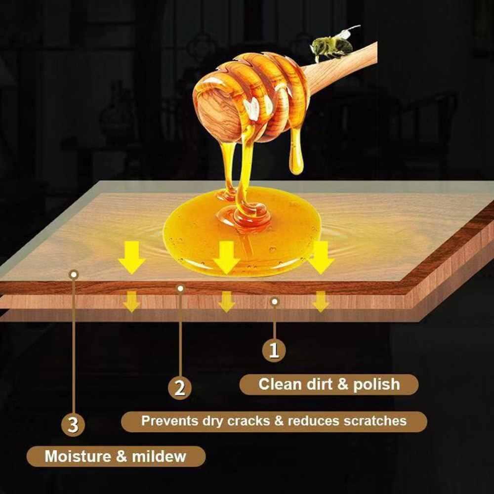 Natuurlijke Pure Wax Pasta Hout Polijsten Meubels Vloer Oppervlak Afwerking Leer Onderhoud Huishoudelijke Accessoires