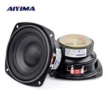 AIYIMA 2Pc 4 Inch Audio Woofer Speaker Bass 4 8 Ohm 30W Hifi Stereo Home Theater Loudspeaker Subwoofer Long Stroke Sound Speaker
