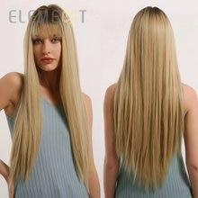 Парик блонд element высокотемпературный синтетический с эффектом