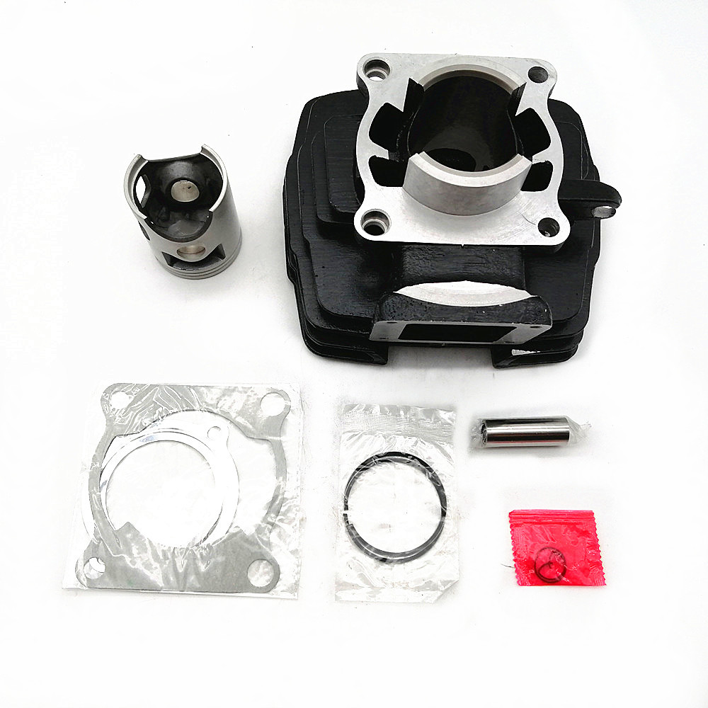 Motorcycle Cylinder Jug Kit 66mm Diameter For Yamaha Dt 175 Replacement image