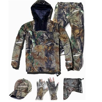 Men's Summer Thin Bionic Camouflage Clothes Fishing Hunting Tactical Ghillie Suit Green Jacket Pants Set Disfraz Camo Camuflado breathable jungle bionic camo clothes wild hunting suits for hunter oem factory