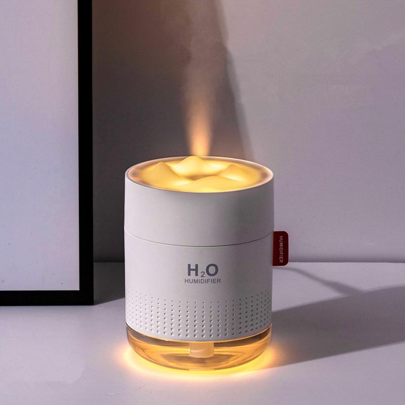 2000mAh Wireless Humidifier Romantic Aromatherapy Humidificador USB Aroma Diffuser Warm Night Lamp Mist Maker Fogger For Bedroom