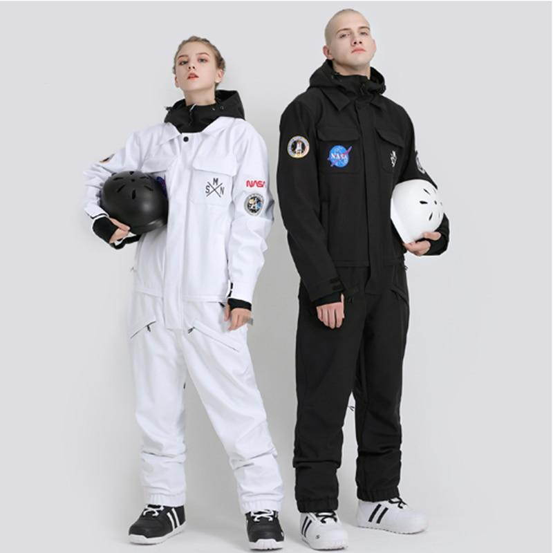 Ski Suit Adult Men Winter Breathable Windproof Waterproof Warm Outdoor Snowboard Suit Original Design Snowboarding Clothing