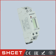 цена на DDS238LCD-1P without RS485 Single Phase Din Rail Type Watt Hour Meter single phase energy meter