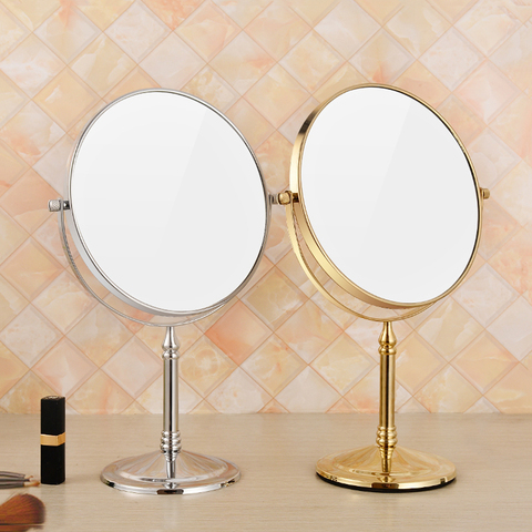 Espelho de mesa vaidade europeu port til espelho cosm tico espelho de mesa princesa lupa