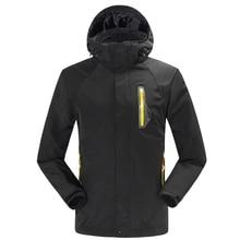 2019 New Winter Men's Hoodie Two-pieces SoftShell Fleece