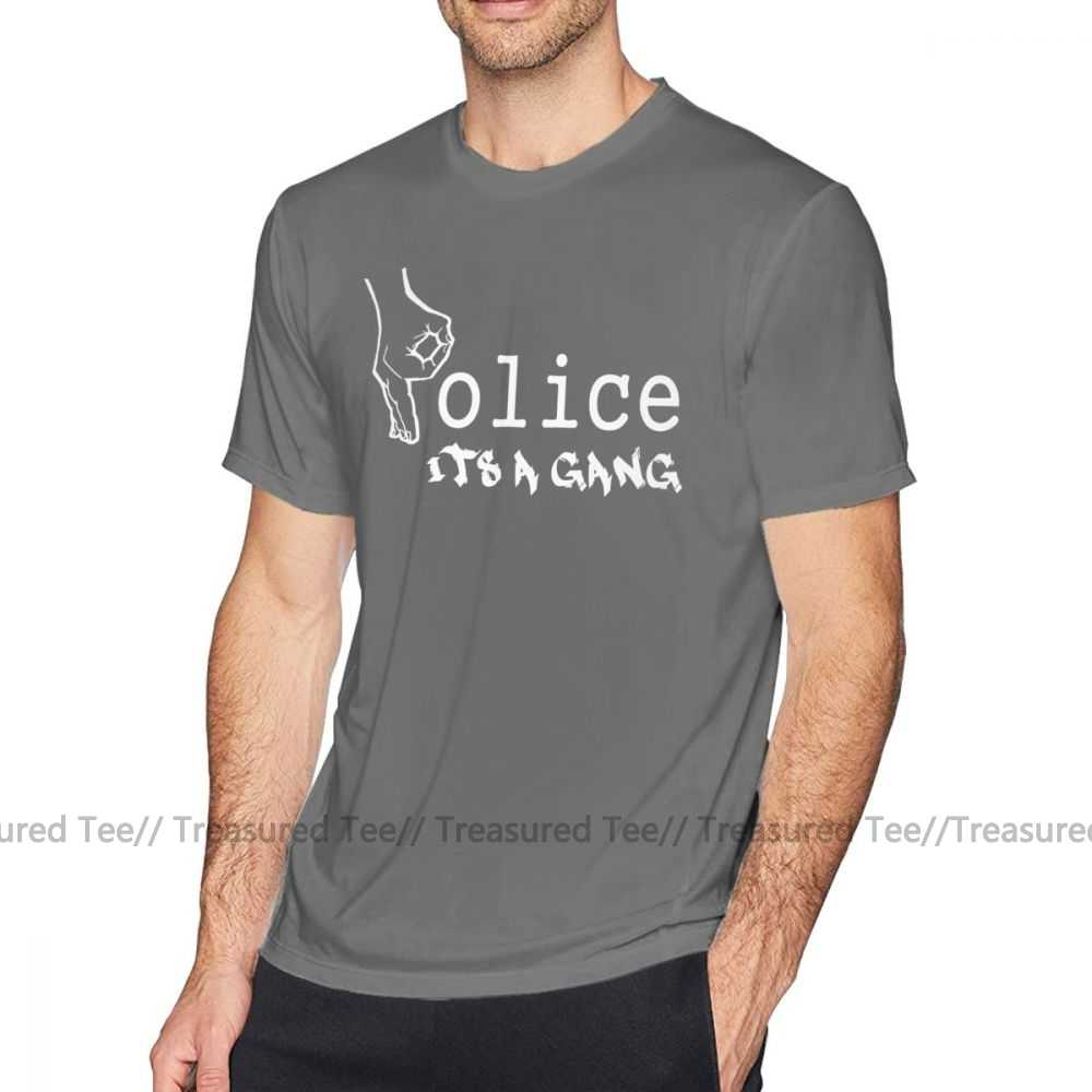 Acab T Hemd Polizei-Es Ist EINE Bande T-Shirt 6xl Männer T Shirt Druck Casual Genial Kurzen Ärmeln Baumwolle t-shirt