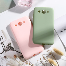 Silicone Case For Huawei Y3 2017 2018 CAG-L02 Candy Color TPU Back Phone Cover COR-L02 COR-L22