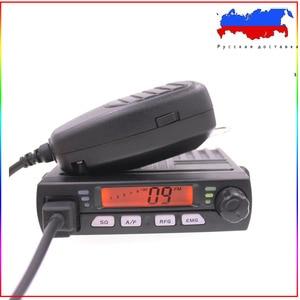 Image 1 - Mini CB 40M de radio móvil para coche, transceptor inteligente AM compacto para aficionados, de emergencia, 25.615    30.105, AR 925, 8W, 40CH, 9/19