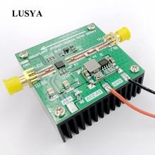 Lusya 5.8 ghz 2 w 선형 증폭기 se5004l 5800 mhz fpv 이미지 전송 rf 증폭기 원격 신호 전력 증폭기 t1183