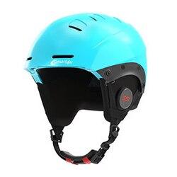 Drahtlose bluetooth Skifahren Helm Junge Mädchen Wasserdichte Bike Fahrrad Radfahren Körperpflege Kopf Sicherheit für Kinder
