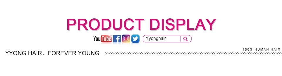 H4bfe3d41599c4916bdfca7734a3424f7d Yyong Hair 3 / 4 Brazilian Loose Deep Wave Bundles With Closure 100% Remy Human Hair Weave Bundles With Lace Closure Can Be Dyed