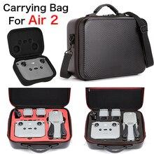 DJI MAVIC Air 2 Case Bag PU Leather Water Resistant Portable Mavic air 2 Carry Case Handbag air 2 Bag Drone Accessories