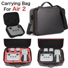 Чехол для DJI MAVIC Air 2, сумка из искусственной кожи, водостойкий портативный чехол для переноски Mavic air 2, аксессуары для дрона