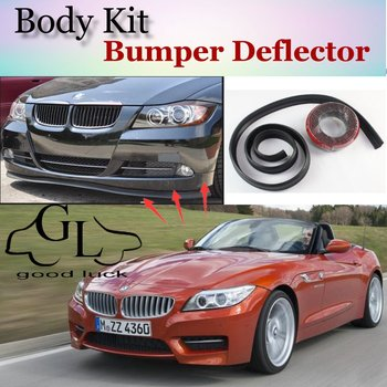 For BMW Z4 Z4M E85 E89 Bumper Lip Lips / GOOD LUCK Shop Spoiler For Car Tuning / TOPGEAR Recommend Body Kit + Strip image