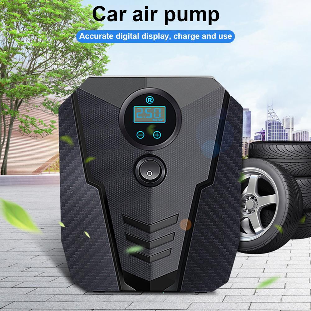 Digital pneu inflator portátil bomba compressor de