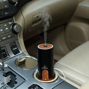 Автомобильная Мини электрическая горелка ладана, черный USB бесшумный увлажнитель воздуха, офисный держатель ладана, домашняя горелка с аро...
