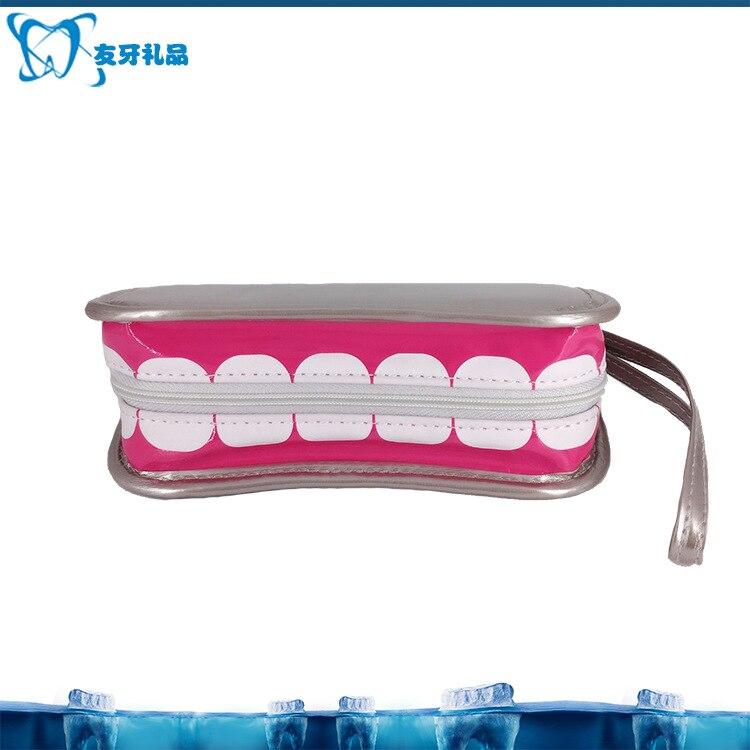 Creative Teeth Purse Teeth Bag Handbag Cosmetic Bag Gift Bag