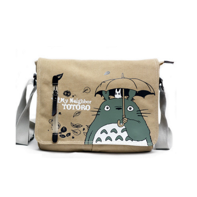 31cm cartoon Anime shoulder bag my neighbor totoro anime Action figures canvas bag with Japanese hayao miyazaki