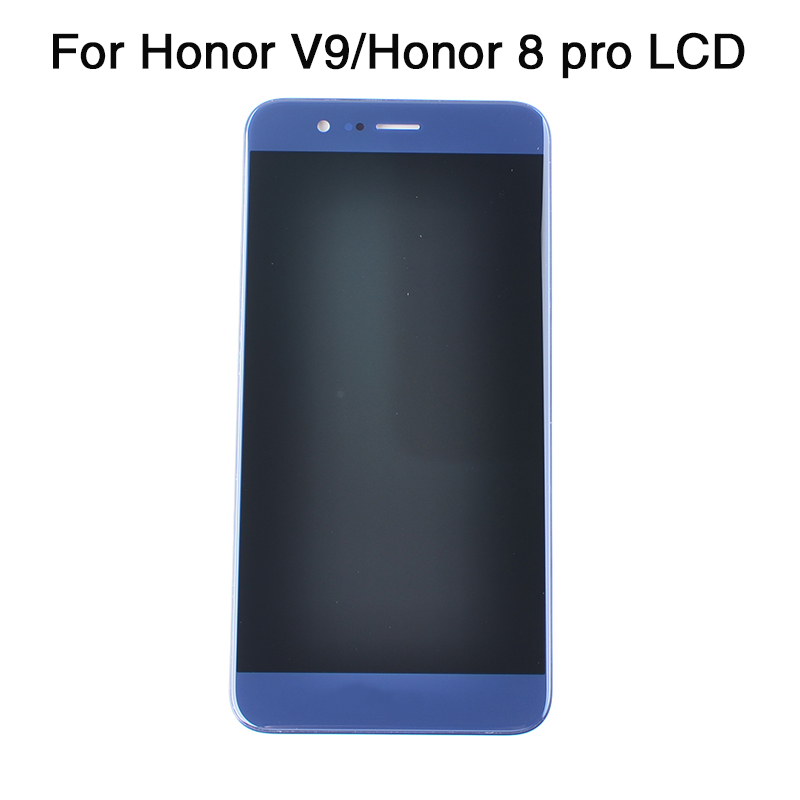 Original Axisinternational For Huawei Honor V9/Honor 8 Pro DUK-L09 DUK-AL20 With Frame LCD Display Screen+Touch Panel Digitizer