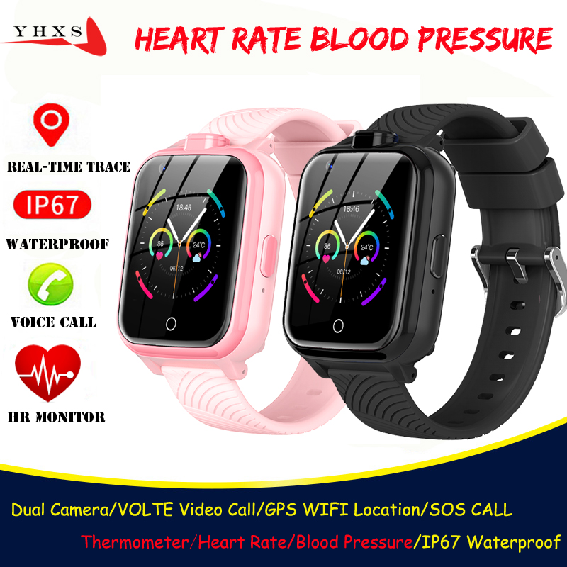 Permalink to Smart 4G Video Call Watch Elderly Men Kid Student Heart Rate Blood Pressure Monitor GPS Trace Locate Camera SOS Phone Smartwatch