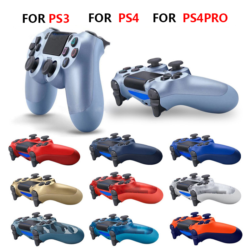 For PS4 Controller Bluetooth Vibration Gamepad  Detroit Wireless Joystick For PS4 Games ConsoL